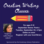 Creative Writing for Kids! Online Class with Rayya @ Online